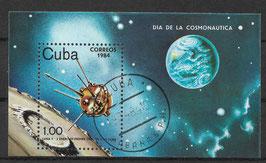 CUBA Block 81 gestempelt