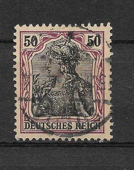 Deutsches Reich GERMANIA 91 Ix gestempelt (BPP JÄSCHKE)