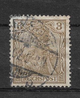 Deutsches Reich REICHSPOST 54a gestempelt (BPP JÄSCHKE) (III)