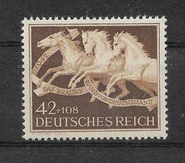 Deutsches Reich GALOPPRENNEN DAS BRAUNE BAND von DEUTSCHLAND 815 postfrisch