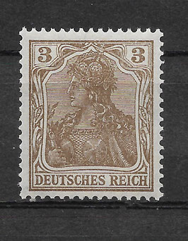 Deutsches Reich GERMANIA 84 IIa postfrisch (BPP JÄSCHKE)