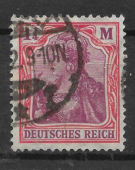 Deutsches Reich GERMANIA 198 gestempelt