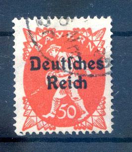 Deutsches Reich  FREIMARKE 125 gestempelt