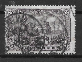 Deutsches Reich GERMANIA 96 A Ib gestempelt (BPP JÄSCHKE)