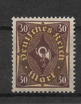 Deutsches Reich POSTHORN 208 P postfrisch (INFLA)