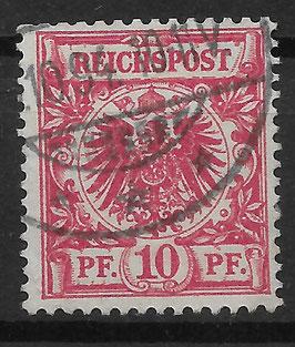 Deutsches Reich KRONE/ADLER 47c gestempelt (BPP JÄSCHKE) (IV)