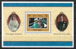 TUVALU Block 60 postfrisch