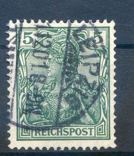 Deutsches Reich REICHSPOST 55 gestempelt
