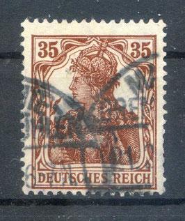Deutsches Reich GERMANIA 103b gestempelt (BPP BAUER) (3)