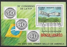 CUBA Block 78 gestempelt