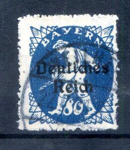 Deutsches Reich FREIMARKE 128 gestempelt