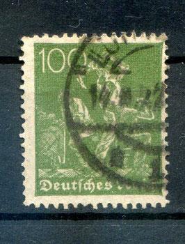 Deutsches Reich FREIMARKE 167 gestempelt