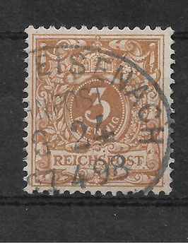 Deutsches Reich KRONE/ADLER 45c gestempelt (BPP WIEGAND) (III)