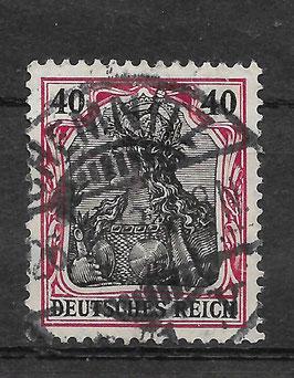 Deutsches Reich GERMANIA 90 I gestempelt (BPP JÄSCHKE) (II)