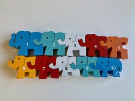 Elefanten, 1 - 10, modern