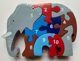 Elefantenfamilie, 1 -10