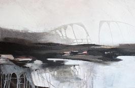 Abstrakte Landschaft I, 150/100 cm