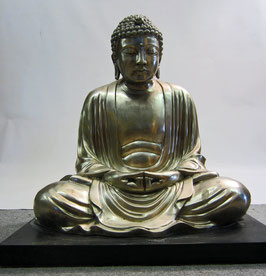 Buddha Kamakura Figur Bronze Statue Daibutsu - H: 60 cm