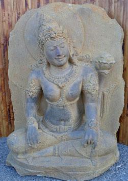 Dewi Tara - Relief - H: 60 cm