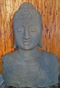 Büste Buddha - Vulkanstein - 110 cm