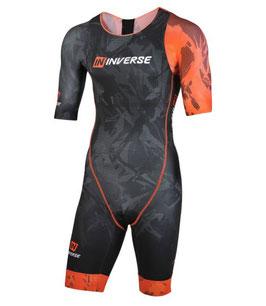 Aerodynamischer Herren - Kurzarm Triathlon Einteiler