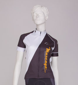 Marengo Damen Radtrikot Polo-Design
