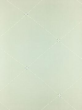 小紋一越薄鼡地菱格子