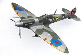 Figuras de avión camuflaje Spitfire