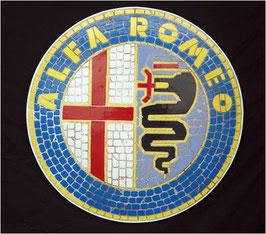 Réplica de mosaico alfa romeo