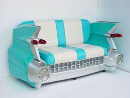 Réplica de sofa coche (turquesa)