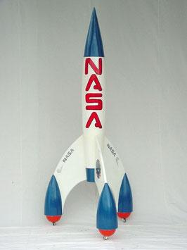Réplica de cohete espacial