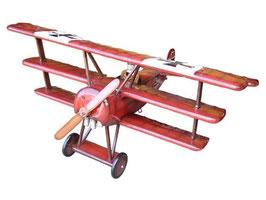 Réplica de avión barón rojo