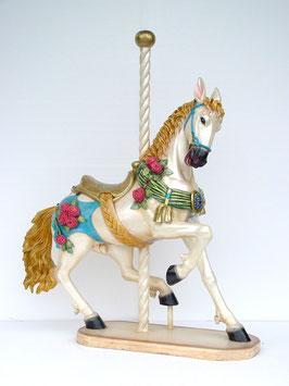RÉPLICA DE CABALLO CARRUSEL | Figuras de caballos