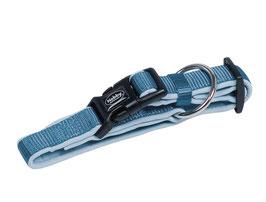 """Halsband """"Classic Preno"""" mit Schnellverschluss Hellblau/Hellblau"""