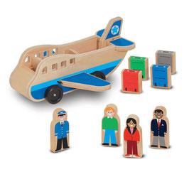 Houten vliegtuig | Melissa & Doug