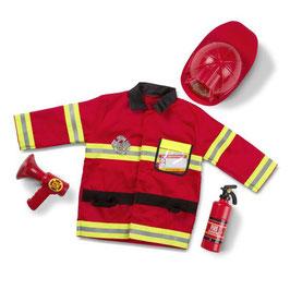 Verkleedset | Brandweerman/vrouw