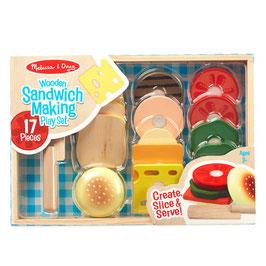 Melissa & Doug | Houten Sandwich set