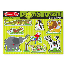 Sound Puzzle | Zoo | Melissa & Doug