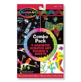 Scratch Art | combinatiepakket | Melissa & Doug