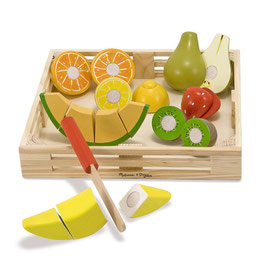 Snijset fruit in krat | Melissa & Doug