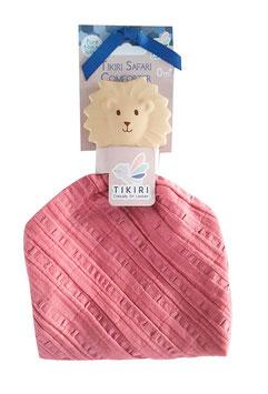Tikiri | Knuffeldoek met bijtspeeltje | Leeuw