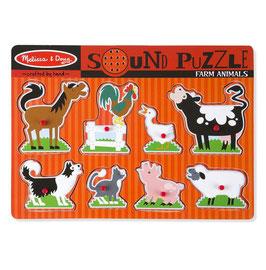 Muziek Puzzel | Boerderij Dieren