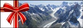 """Circuit 50 min """"Aravis - Mont-Blanc"""" pour 3 adultes"""