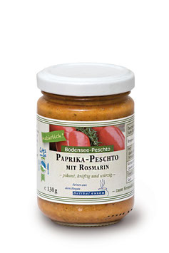 Bodensee-Peschto - Paprika -