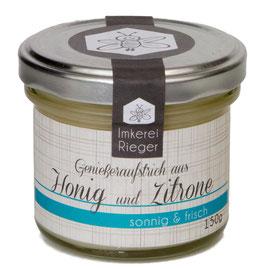 Honig mit Zitrone - sonnig & frisch!