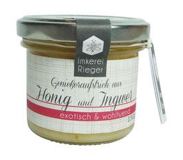 Honig mit Ingwer - exotisch & wohltuend!