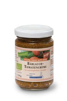 Bärlauch-Tomatencreme -Bio-
