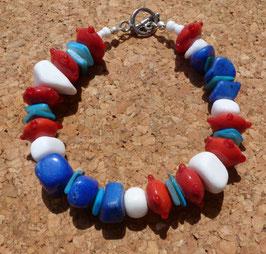 RWBlue bracelet