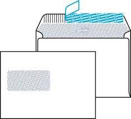 Kuverts C5 mit Fenster links unbedruckt