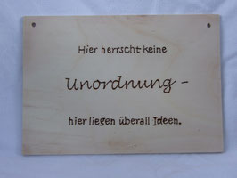 Statement Unordnung